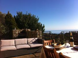 Vue mer et montagne Solenzara, Ventiseri