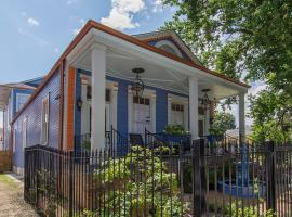 The Big Blue House in the Marigny