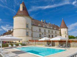 Hôtel Golf Château de Chailly, Chailly-sur-Armançon (рядом с городом Pouilly-en-Auxois)