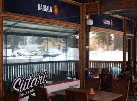 Hotelli-Ravintola Siitari, Vaala (рядом с городом Utajärvi)