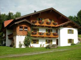 Gästehaus Apfelbacher, Spiegelau (Rametnach yakınında)