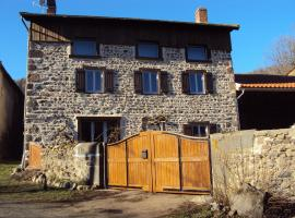 Gîte CASSIS, Domeyrat (рядом с городом Vals-le-Chastel)