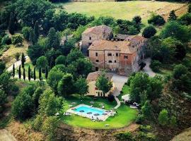 Agriturismo Castello Saltemnano, Buonconvento (Serravalle yakınında)