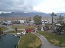 RV Parking at Longstreet, Amargosa Valley