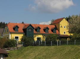 Ferienwohnung Zum alten Forsthaus, Messern (Geras yakınında)