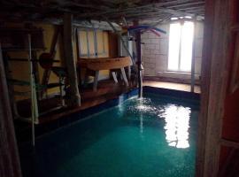 La Residence du Moulin avec piscine intérieure, Sainte-Maure