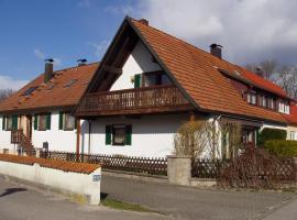 Ferienwohnung Weidhaußer, Gunzenhausen (Dennenlohe yakınında)