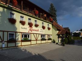 Gasthof Roseneck, Wallenfels (Steinwiesen yakınında)
