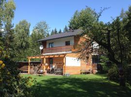 Ferienhaus im Wald, Edelschrott