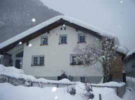 "Kraucherhaus ""Ferienhaus zum Geniessen"", Matt (Steinibach yakınında)"