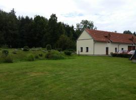 Penzion Stará Fořtovna Brdy, Bohutín (Rožmitál pod Třemšínem yakınında)