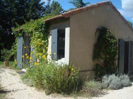 Petite maison et jardin en Provence, Charleval (рядом с городом Brame-Jean)