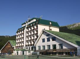 Hotel Miramonti, Pietracamela (Fano Adriano yakınında)