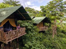 La Tigra Rainforest Lodge, Tigra (Colonia Palmareña yakınında)