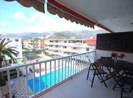 LETS HOLIDAYS Pool Apartment in CASTELLDEFELS, Castelldefels