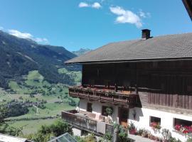 Obertimmeltaler, Matrei in Osttirol (Hinterburg yakınında)