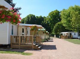 Camping des Halles, Десиз (рядом с городом Beaumont-Sardolles)