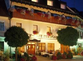 Hotel Gasthof Zur Post, Königstein in der Oberpfalz (Vilseck yakınında)