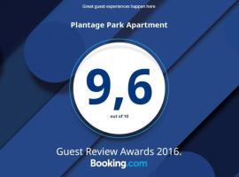Plantage Park Apartment