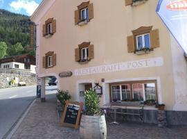 Landgasthaus Post, Surava (Brienz yakınında)