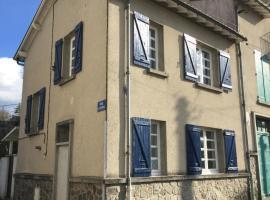 Gîte La Maison Hortensias, Chabanais (рядом с городом Chabrac)