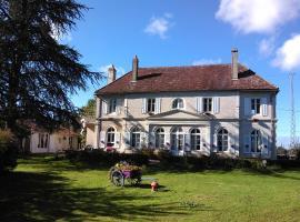 Demeure de l'île rollet, Saint-Jean-de-Losne (рядом с городом Trouhans)