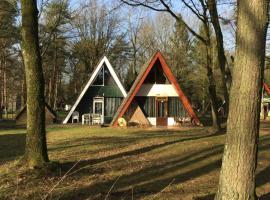 Vakantiepark Vosseven 77, Stramproy (Molenbeersel yakınında)