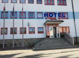 Hotel O.K. 1, Beroun (Králŭv Dvŭr yakınında)