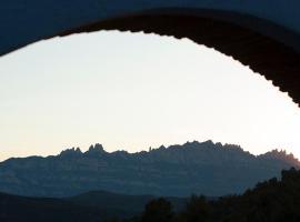 Masia CasaJoana Rural, Rellinars (Rocafort yakınında)