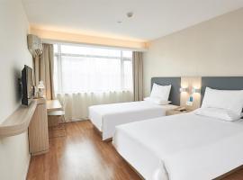 Hanting Hotel Wenzhou Longwan Yongqiang Avenue, Wenzhou (Ningcunso yakınında)
