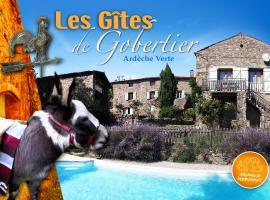 Holiday home Gobertier, Saint-Alban-d'Ay (рядом с городом Vanosc)