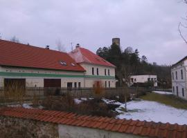 Penzion U Jezu Dobronice, Dobronice (Křída yakınında)
