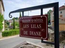 Les Lilas de Diane, Claveyson (рядом с городом Bathernay)