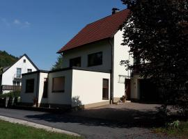 Ferienwohnung Lang, Plankenfels (Waischenfeld yakınında)