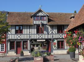 Aux Trois Damoiselles, Beuvron-en-Auge (рядом с городом Saint-Ouen-du-Mesnil-Oger)
