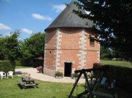 Séjour Insolite et Romantique dans un Pigeonnier, Varneville-Bretteville (рядом с городом Calleville-les-Deux-Églises)
