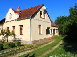 Faluszéli Tóthék Vendégháza, Szentkozmadombja (рядом с городом Baktüttös)