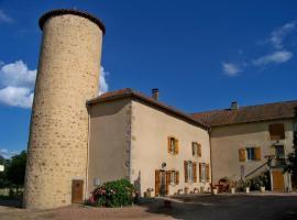 Gite De La Tour De Rouilleres, Ambierle (рядом с городом Saint-Romain-la-Motte)