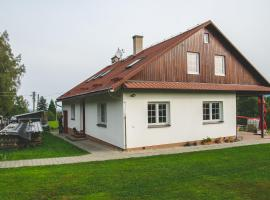 Ubytování na Mecnerburgu, Janovice (Krásná yakınında)