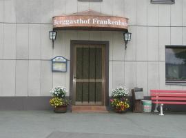 Berggasthof Frankenhöhe, Schwarzenbach am Wald