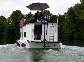 Bateau houseboat camille, Donchery (рядом с городом Vrigne-aux-Bois)