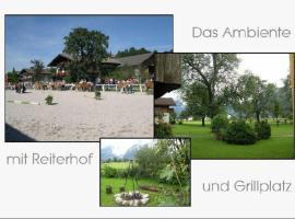 Ferienwohnung Alpenblick, Kuchl (Sankt Koloman yakınında)