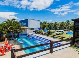 Hotel Pousada Recanto, Ilha Comprida (Iguape yakınında)