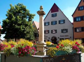 Hotel Haus Appelberg, Dinkelsbühl (Langfurth yakınında)