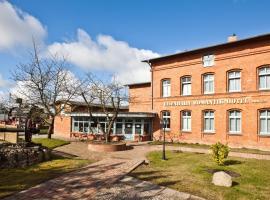Eisenbahnromantik Hotel, Meyenburg (Stepenitz yakınında)