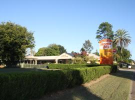 Country Roads Motor Inn Gayndah, Gayndah (Mount Perry yakınında)