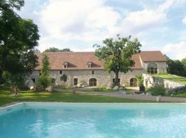 Chambres et Jardin de Pierres, Espédaillac (рядом с городом Durbans)