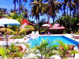 Kebun Kupu Kupu Gili Meno Eco Resort, Gili Meno