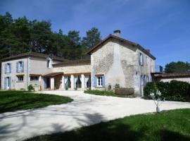 Chambres d'Hôtes Le Vignaud, Брантом (рядом с городом La Negrerie)