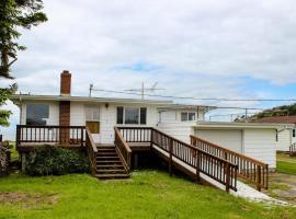Lopez Island Agate Beach Waterfront Home, Islandale